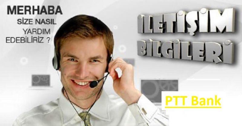 ptt müşteri hizmetleri numarası kaç