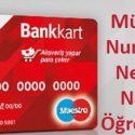 Ziraat Bankası müşteri numarası nedir