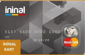 ininal kart sim kart değişikliği