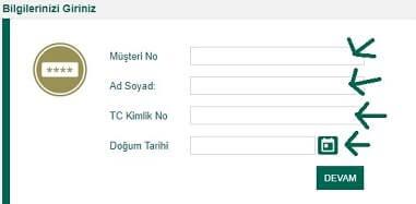 Kuveyt Türk internet şifresi alma
