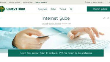 Kuveyt Türk internet şifresi nasıl alınır
