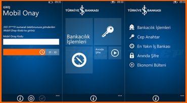 iş bankası mobil onay kodu