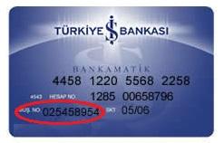iş bankası müşteri numarası öğrenme