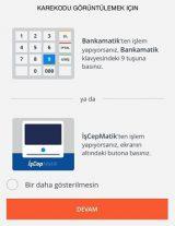 İş Bankası cep anahtar tek kullanımlık şifre nasıl alınır