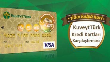 kuveyt türk kredi kartları karşılaştırması