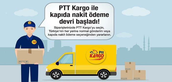 PTT kargo kapıda ödeme anlaşması